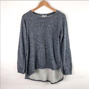 LNA Asymmetrical hem Sweatshirt